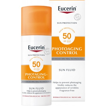 Eucerin Sun Protection Photoaging Control Sun Fluid SPF50 50ml