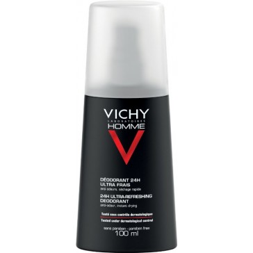 Vichy Homme Ultra-Refreshing Deodorant Spray 100ml