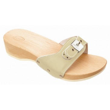 Scholl Exercise Pescura Heel Sandals - Sand