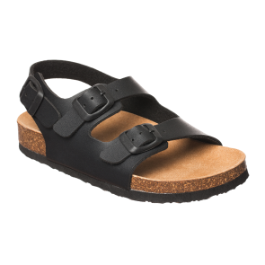 Scholl Air Bag Backstrap Kids Bioprint Sandals - Anthracite