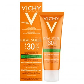 Vichy Idéal Soleil Anti-Blemishes Mattifying Corrective Care SPF30 50ml