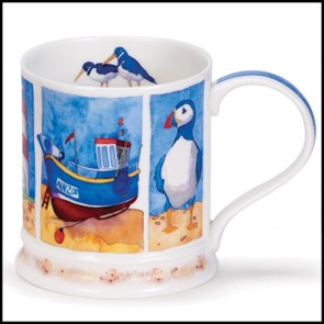Dunoon Mug - Iona Shape - Beside the Sea