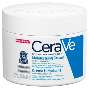 CeraVe Moisturising Cream For Dry to Very Dry Skin 340g