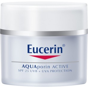 Eucerin AQUAporin Active for All Skin Types SPF25 + UVA Protection 50ml