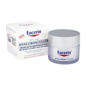Eucerin Anti-Age Hyaluron-Filler Day Cream for Dry Skin with SPF 15 & UVA protection 50ml