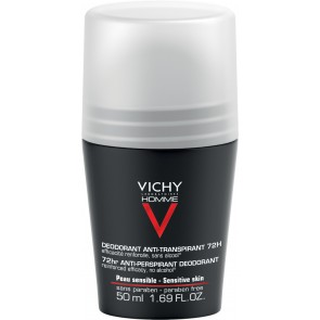 Vichy Homme 72hr Extreme Anti-Perspirant Roll On 50ml