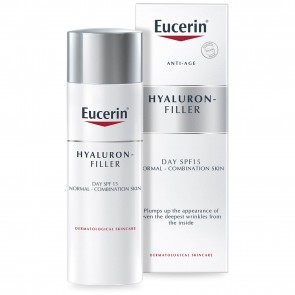 Eucerin Anti-Age Hyaluron-Filler Day Cream Normal-Combination Skin SPF15 50ml