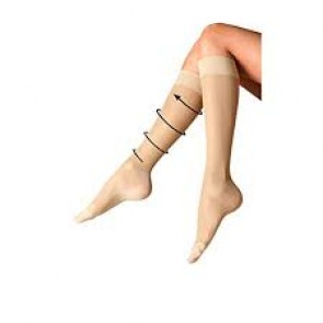ProFoot Flight Socks Silky Smooth - Natural (UK size 4 - 8) - 2 Pairs