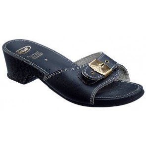 Scholl Leather Look Sandals High - Stone