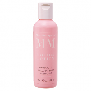 MegsMenopause Motion Lotion - Natural Oil Based Intimate Lubricant 100ml