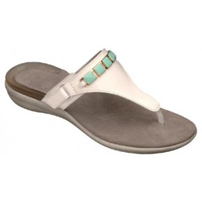Scholl Gelactiv Hollis Sandals - White/Green