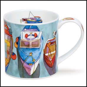 Dunoon Mug - Orkney Shape - Seaside