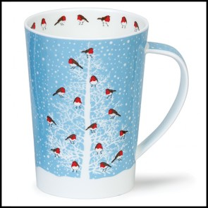 Dunoon Mug - Argyll Shape - Snow Flurry
