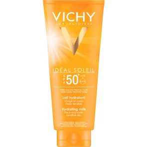 Vichy Ideal Soleil Hydrating Milk Face & Body SPF50 300ml