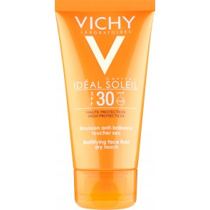 Vichy Ideal Soleil Mattifying Face Fluid - Dry Touch SPF30 50ml