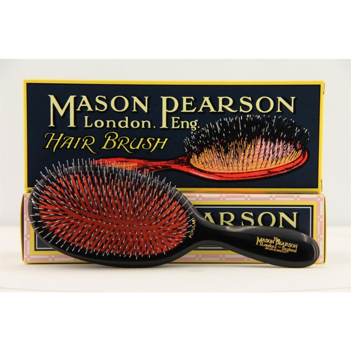 Mason Pearson Large Size Popular Bristle And Nylon Bn1 Uk 163